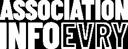 Association Info Evry Logo for Dark Scheme